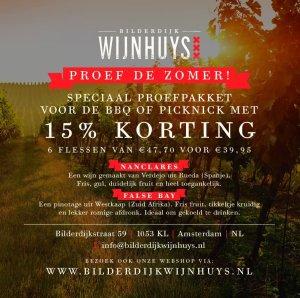 Samen Bourgondisch: Proef de zomer bij Bilderijk Wijnhuys