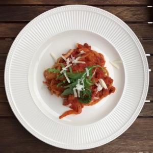 Samen Bourgondisch: Pasta met salami en venkel