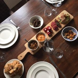Samen Bourgondisch: Plankje vol met lekkers