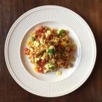 Samen Bourgondisch: Kip-kerrie rijstsalade