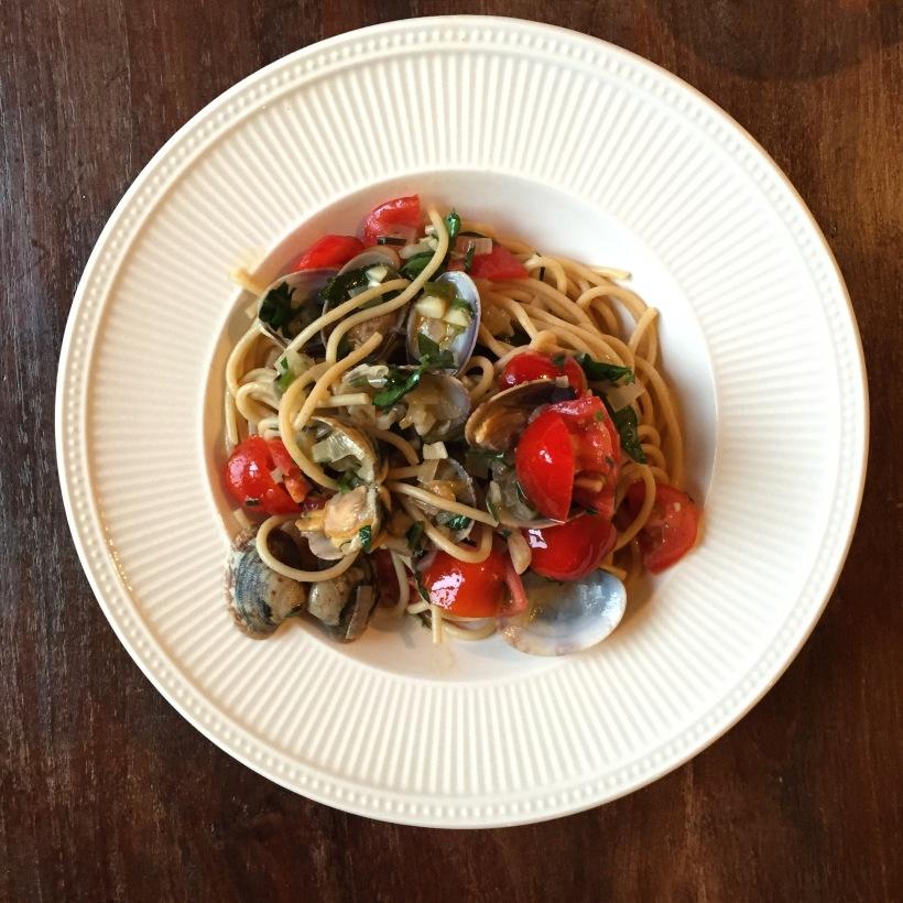 Spaghetto Vongole Recept Samen Bourgondisch