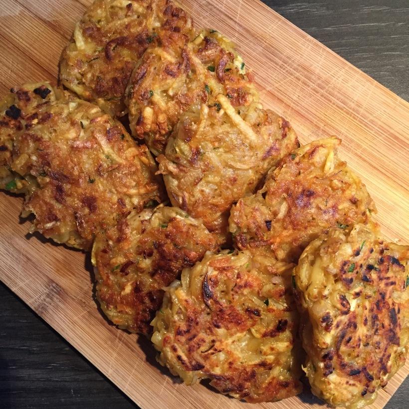Aardappelkoekjes - fritters