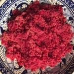 Rode bulgur