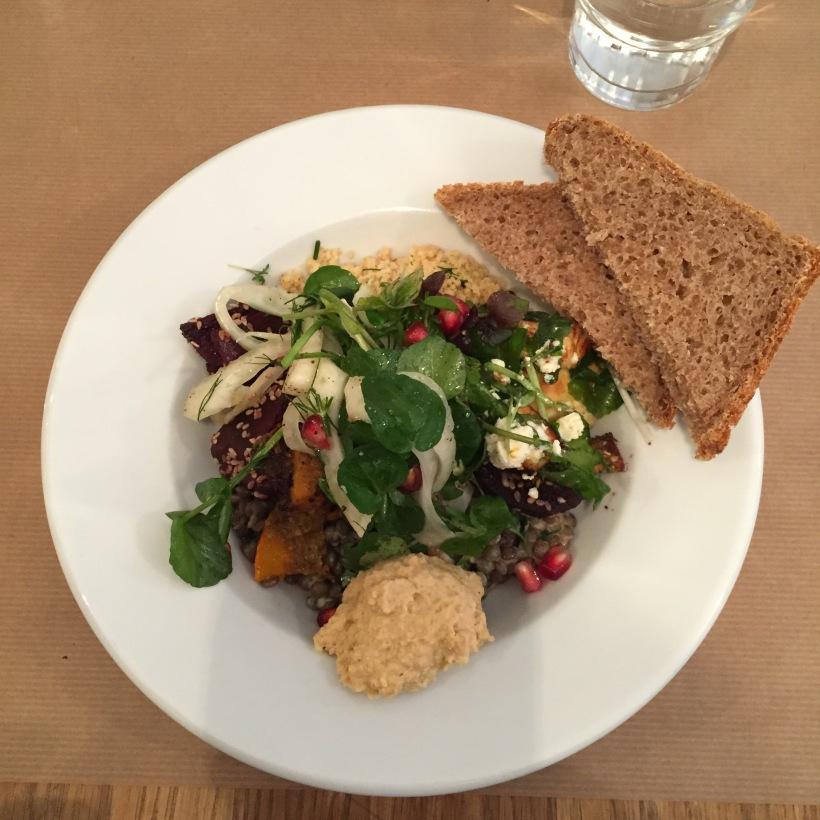 Lunchen bij het Buffet van Odette in Amsterdam
