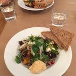 Salade van het buffet van Odette