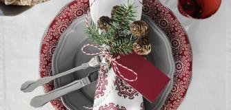 Kersttafel inspiratie van www.christmaholic.nl