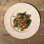 Vegetarische versie - Griekse salade met couscous