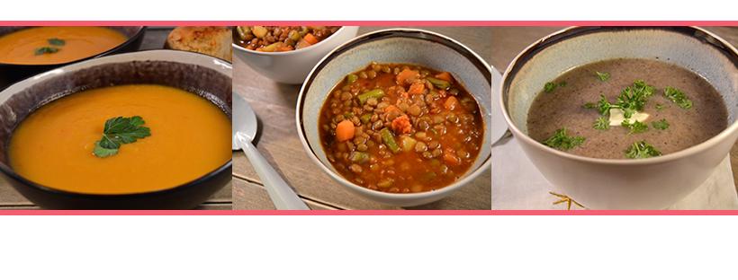 Recepten voor zelfgemaakte soep