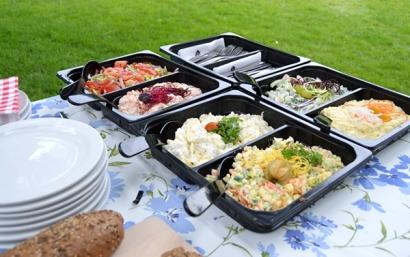 Salades van de Barbecue Boer