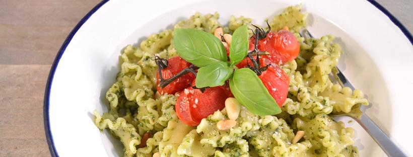 Recept voor pasta pesto
