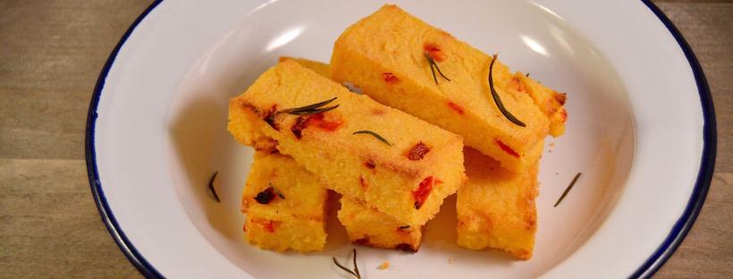 Recept voor knapperige polenta uit de oven