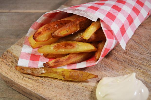 Gezonde frietjes uit de oven