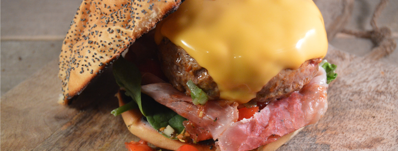 Cheeseburger met bacon