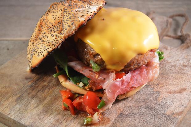 Cheeseburger met bacon