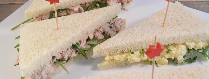 Sandwiches voor de Paasbrunch